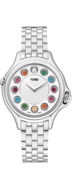 Fendi Crazy Carats Stainless Steal topez watch
