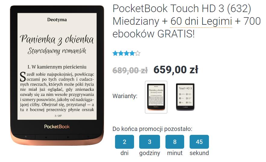PocketBook Touch HD 3 na czytio.pl