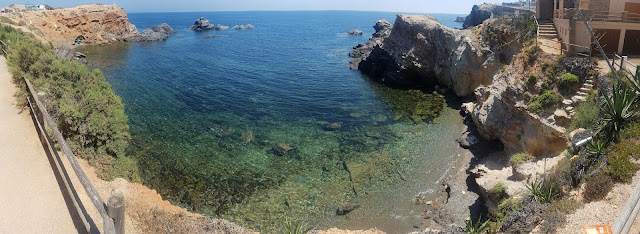 Taking a nap in this beautiful cove