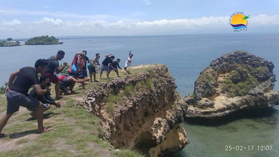 Gambar Selfi dan Hunting Foto Saat Di Lombok