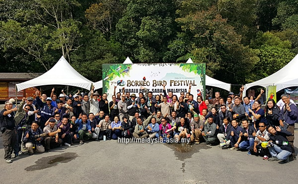 Participants of Borneo Bird Festival