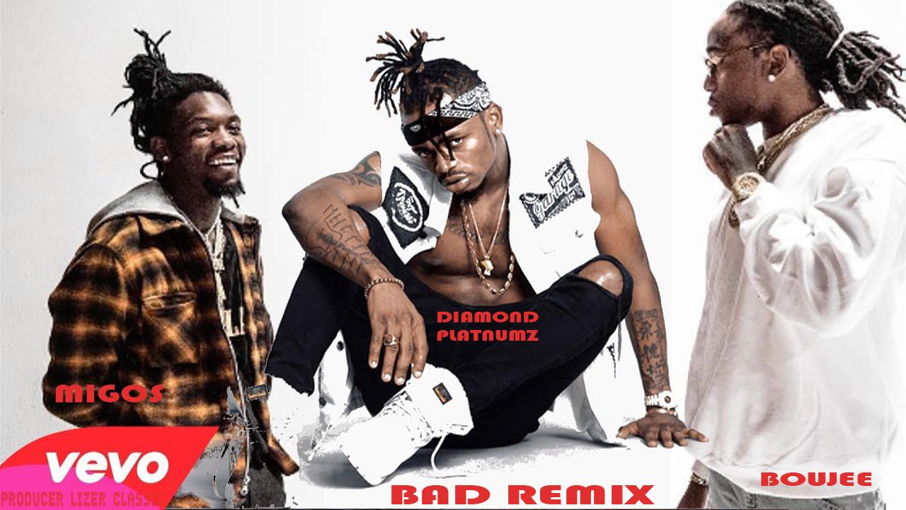 AUDIO | Migos ft Diamond Platnumz and Boujee _ Bad Remix | Download