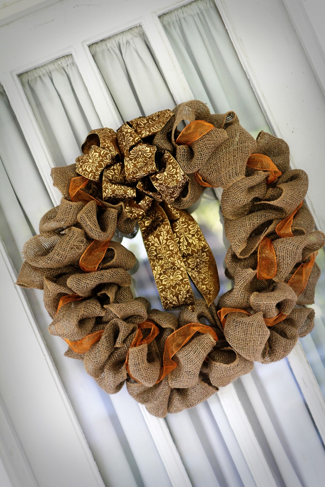 pass the pineapple: DIY fall wreath tutorial