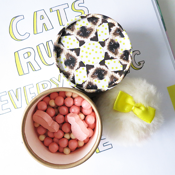 Paul & Joe Cheek Colour CS features cat-shaped blush beads.