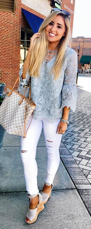 Great Spring Outfit Ideas To Copy Right Now #Spring #Outfits