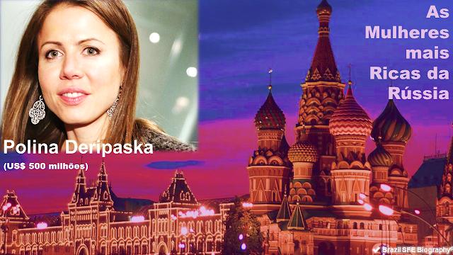 Polina Deripaska - As Mulheres Mais Ricas da Rússia em 2018
