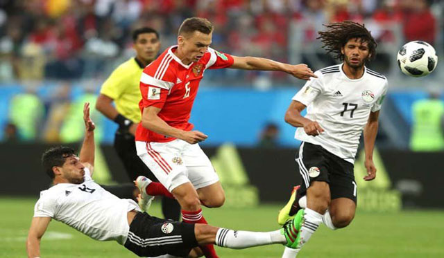 Cuplikan Pertandingan Russia VS Mesir 20 Juni 2018