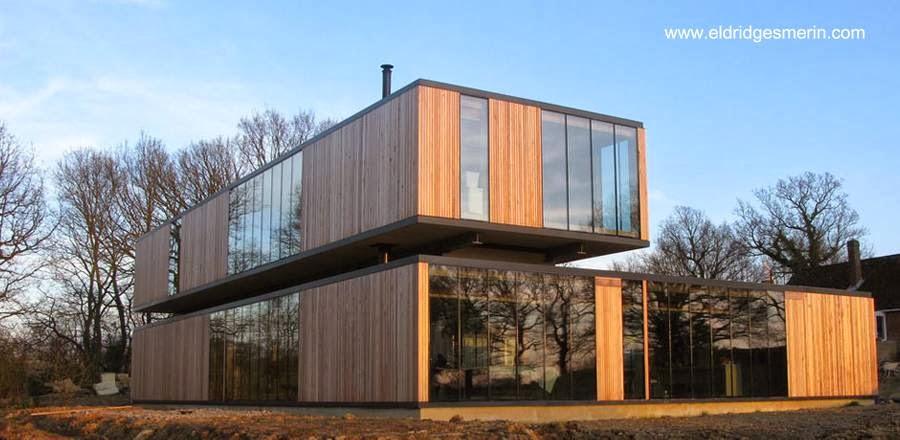 Casa prefabricada modular en kit en Reino Unido