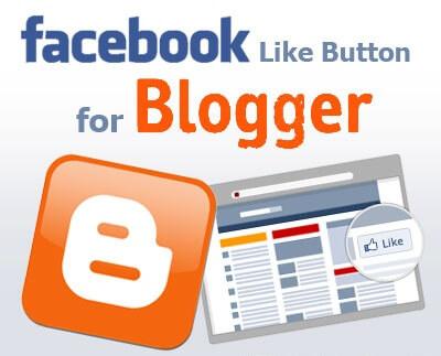 اضافة اداة تابعنا على الفيس بوك لبلوجر - like facebook page widget
