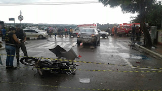 Fuga causa acidente fatal na Floriano Peixoto