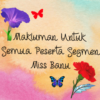Peserta Segmen Blogwalking & Bloglist By Miss BaNu, April 2017, segmen happy birthday to me, segmen bulan april,