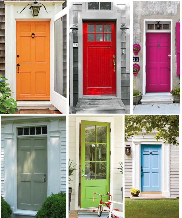 It's Like This: Painted Doors: Cape Cod Colors