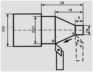 gambar kerja CNC