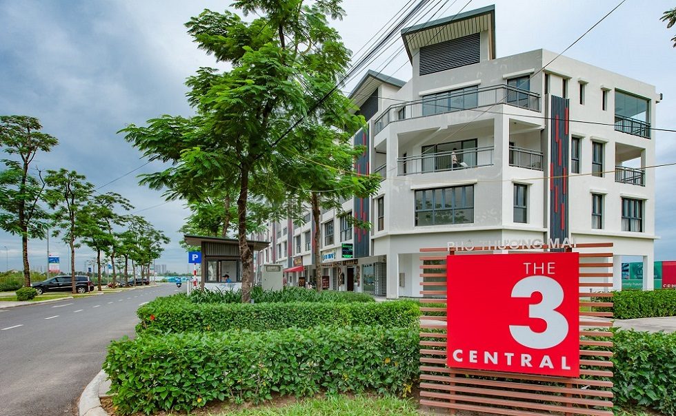 Khu Shophouse The Three Central- Gamuda Gardens