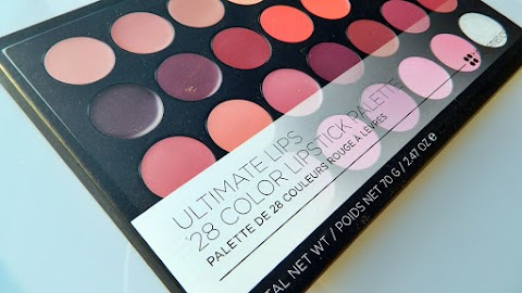 Recenzija: bh cosmetics Ultimate lips 28 color lipstick palette