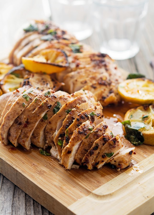 Spicy Basil Lemon Chicken