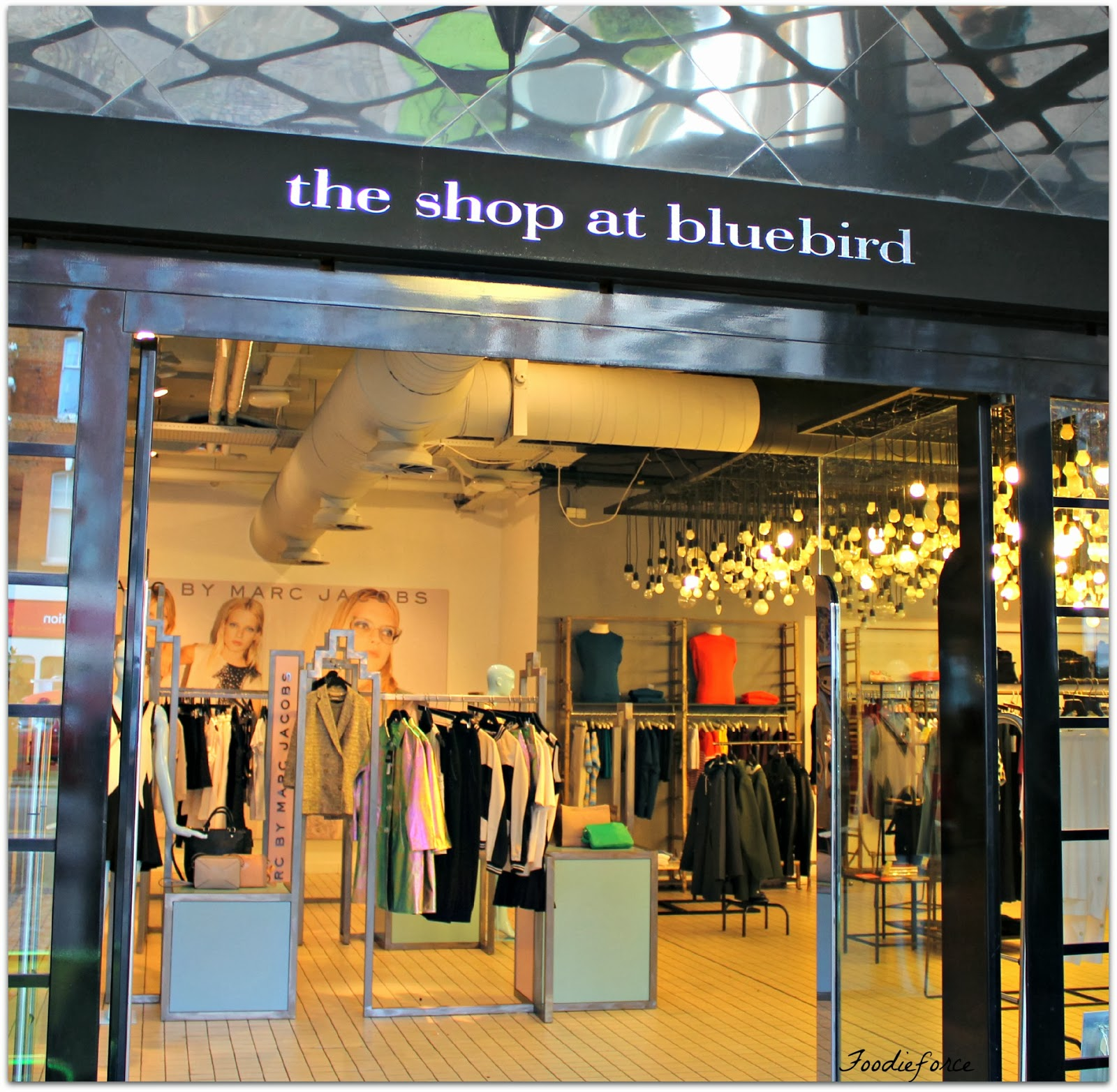 The shop at Bluebird