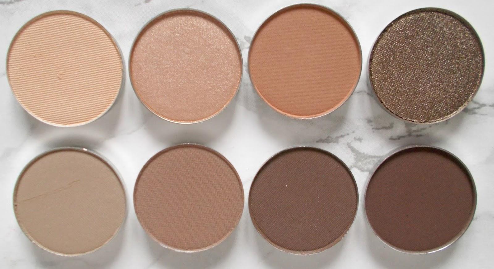 Anastasia Beverly Hills single eyeshadows review neutral matte