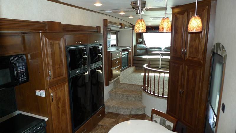 Rushmore 5th Wheels LINCOLN - front living room fifth wheel
