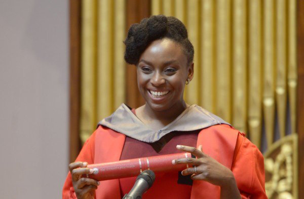 Chimamanda Adichie honored with 'Doctor of Letters' degree by UK university