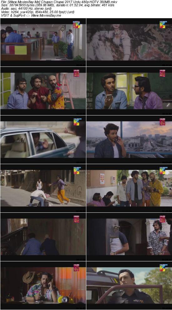 Chupan Chupai 2017 Urdu 480p HDTV 350MB