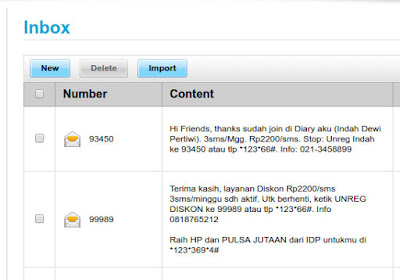 Sms Berlangganan Dari Iklan XL Maling Pulsa