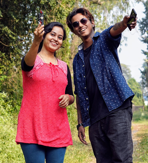 Sourajit Saha With Rituparna Saha 12