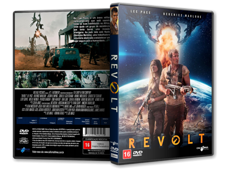 Capa DVD Revolt [Custom]