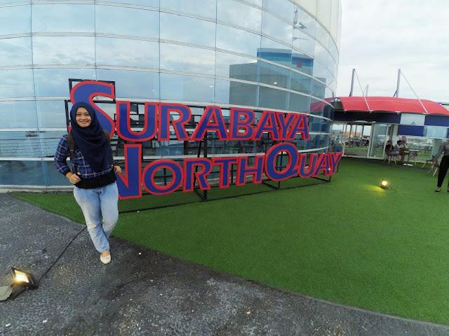 Wall of Fame bertuliskan Surabaya North Quay