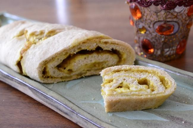 Paneer masala bread