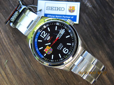 Seiko 5 Sports Barcelona