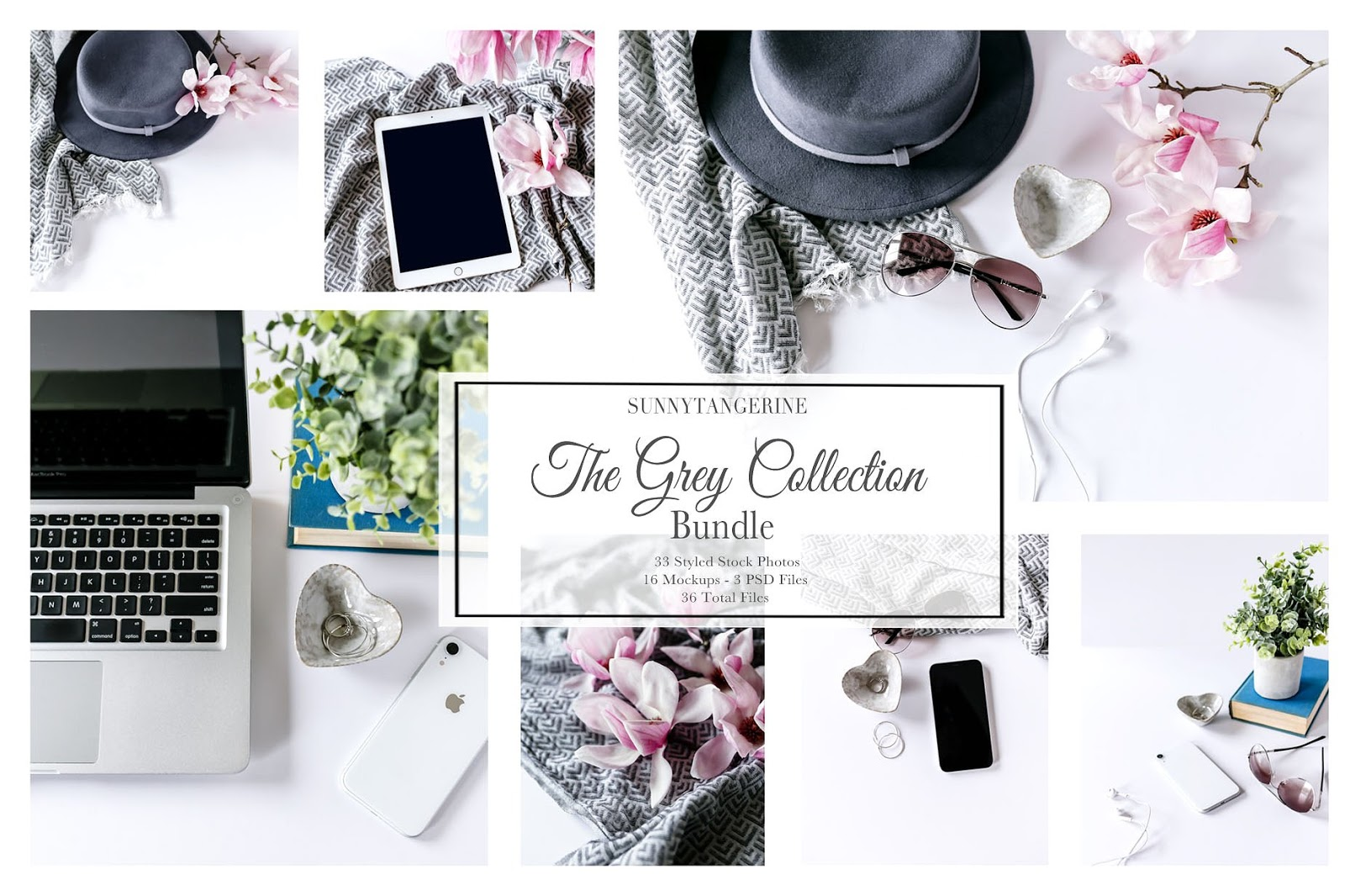 The Grey Collection Photo Mockups Bundle