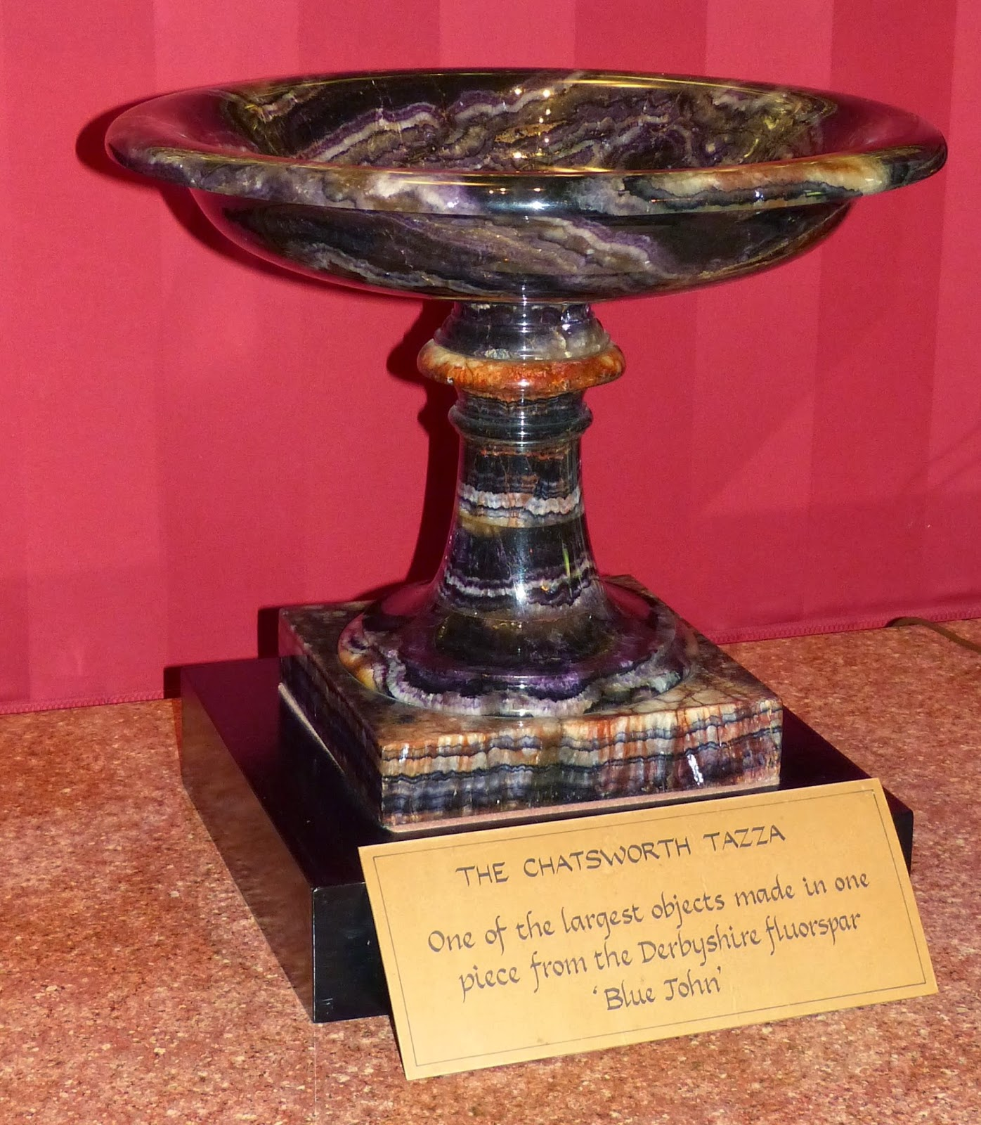 The Chatsworth Tazza, Chatsworth