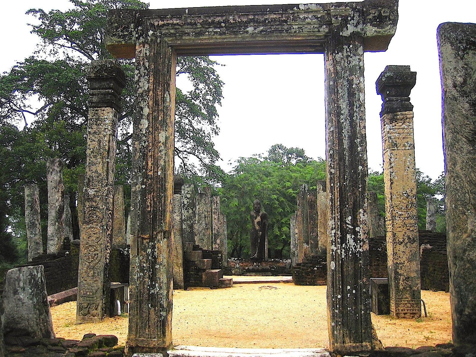 Atadage, Tooth Relic Temple, Polonnaruwa, Sri Lanka