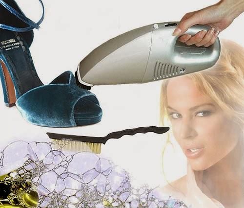 Cara Membersihkan Sepatu Beludru