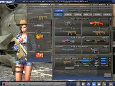 Gameplay Point Blank 2014 Full