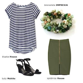 zielona bransoleta