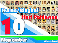 Frame Foto Profil FB Hari Pahlawan 10 November