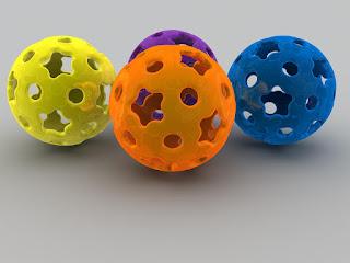 3D ball desktop best wallpapers