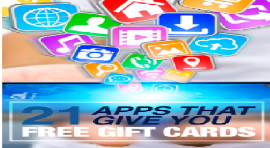 21 Best Apps That Give You Free Gift Cards