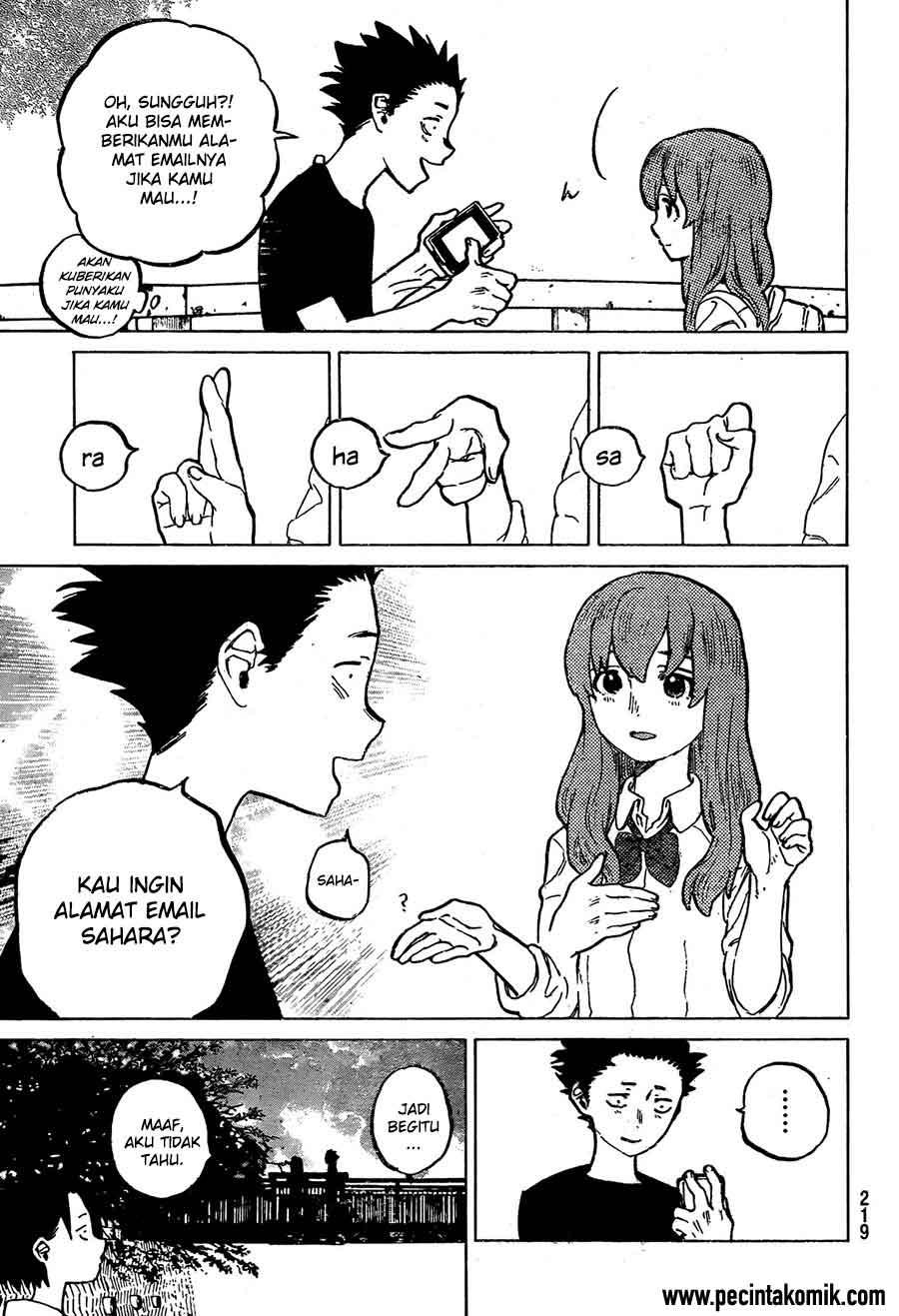 Koe no Katachi Chapter 15-6