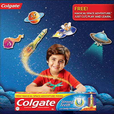 Space is Infinite And So Are #ColgateMagicalStories By #Children