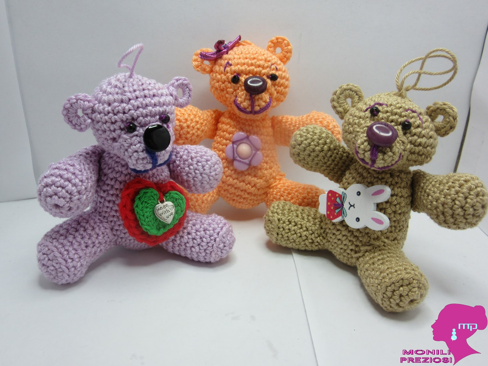 ORSETTA/O PER BIMBI AMIGURUMI ○ World Of Amigurumi - YouTube | 1200x1600