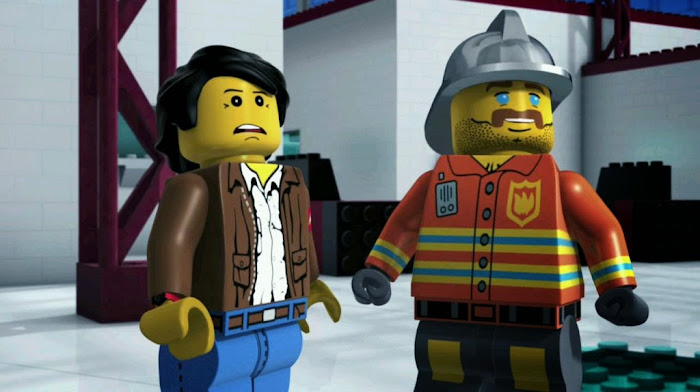 Screen Shot Of Hollywood Movie Lego The Adventures of Clutch Powers (2010) In Hindi English Full Movie Free Download And Watch Online at worldfree4u.com