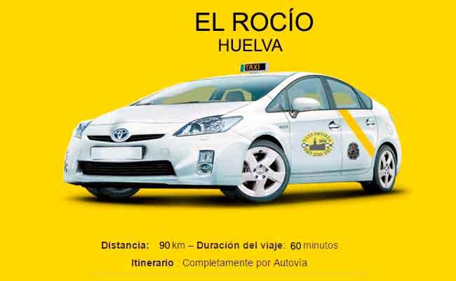 Precio Taxi Sevilla-El Rocío