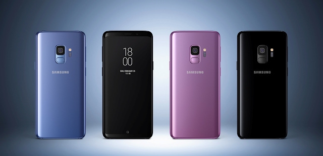 SAMSUNG GALAXY S9 | S9+ THE SUPER AMOLED CAPACITIVE TOUCHSCREEN