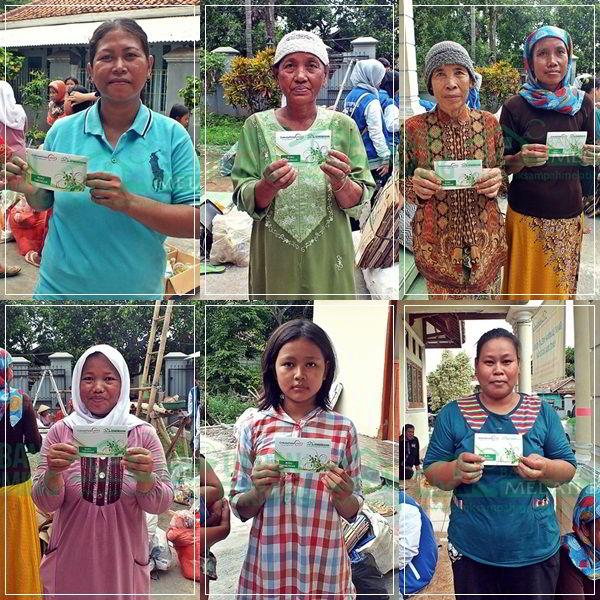 Bank Sampah Melati Bersih: Launching Dan Penimbangan