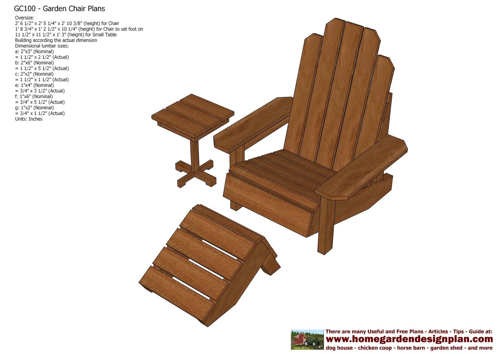 garden chair design plans rent kids chairs home gc101 out door