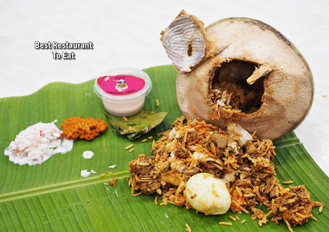 MAHESHA TTDI Baby Coconut Briyani Set  - Chicken Flavour
