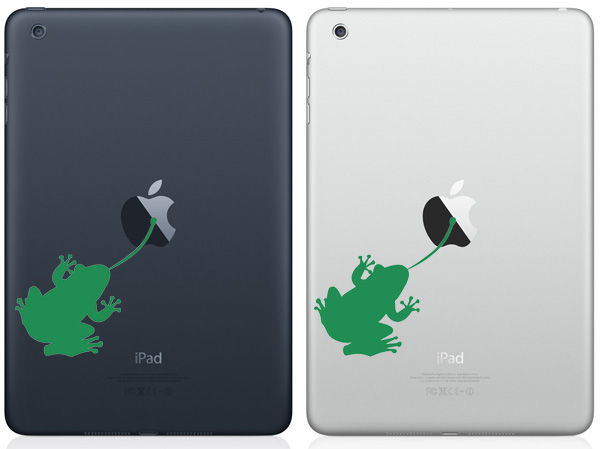Frog iPad Mini Decals